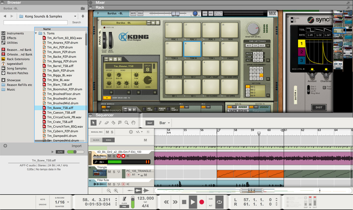 The recording software for Mac with everything you need to create music